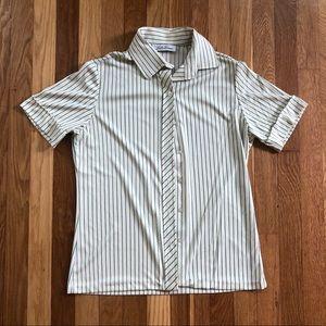 Vintage Lucky Winner Striped Blouse